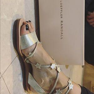 Loeffler Randall starla Strap up sandals